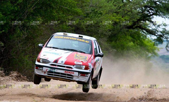 Inicia el Provincial de Rally con tres pilotos de Alta Gracia