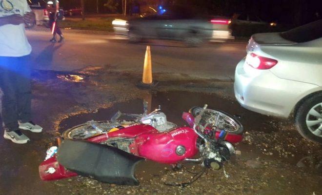 Un menor resultó herido tras choque en Ruta 5