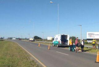 Un ciclista fue atropellado en la Autovía a Córdoba