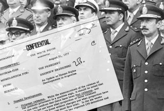 Estados Unidos entregará documentos desclasificados de la dictaduraEstados Unidos entregará documentos desclasificados de la dictadura