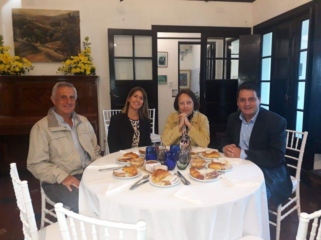 Un lujo: la sobrina nieta de Manuel de Falla visita Alta Gracia
