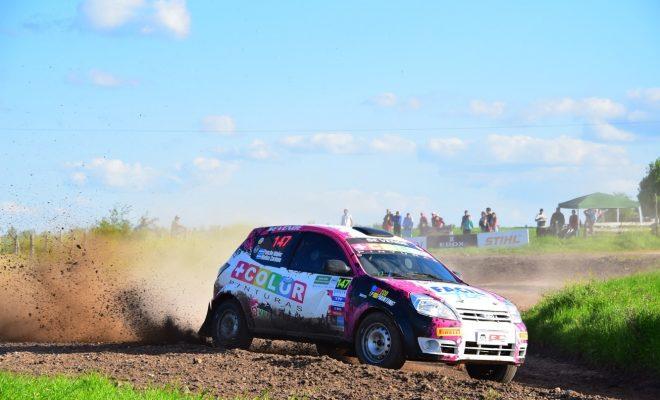 Idañez viene peleando arriba en el Rally de Toledo