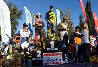 Juani Salgado arrancó con todo su año en el Argentino de Enduro