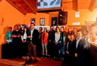 Villa San Isidro: Claudio Peña presentó su candidatura, su equipo y sus propuestas