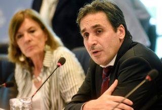 Ramos Padilla ratificó sus denuncias en el Congreso