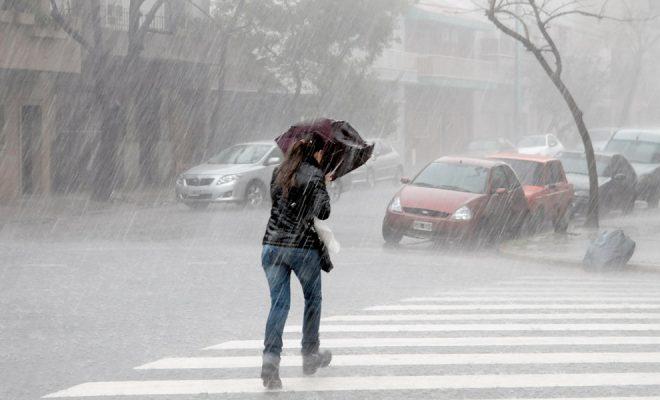 Viernes con alerta de tormentas fuertes para nuestra región