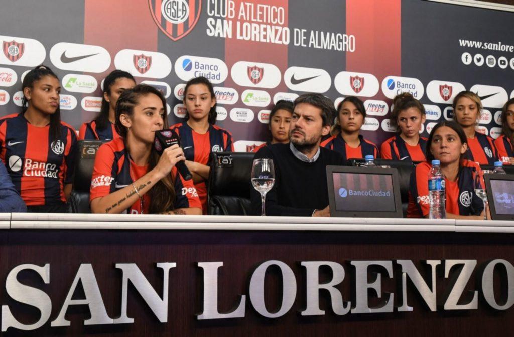 Conferencia de Prensa: Macarena Sanchez y Matias Lammens