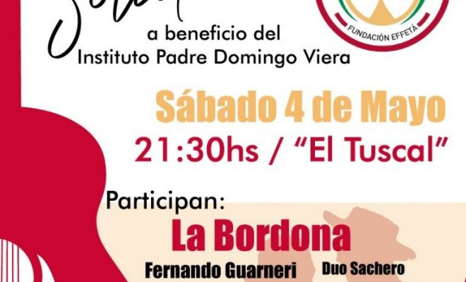 Gran Peña Solidaria a beneficio del Instituto Padre Domingo Viera