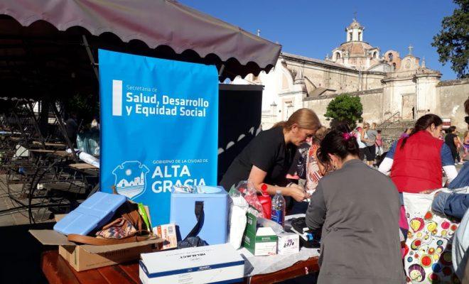 Alta Gracia se suma a la Campaña de Vacunación Antigripal