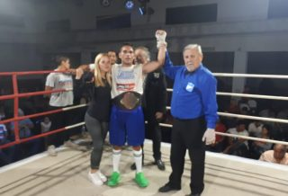 Boxeo: Vicente Pérez se coronó Campeón Regional