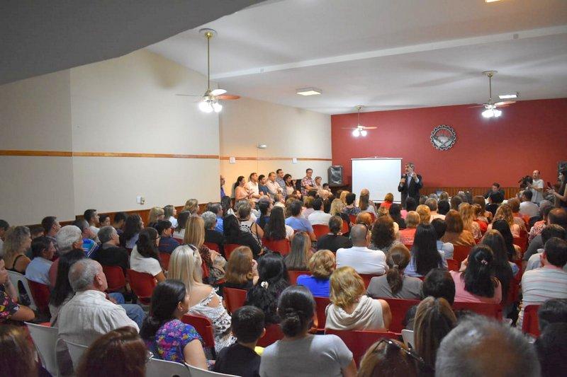 """El Doctor Enrique Orchansky abrió las conferencias """"Alta Gracia Protagonista"""""""