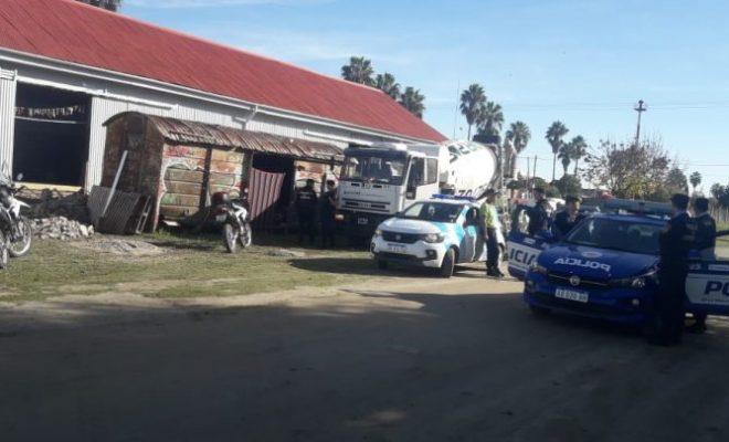 Seguridad Ciudadana desalojó un vagón usurpado