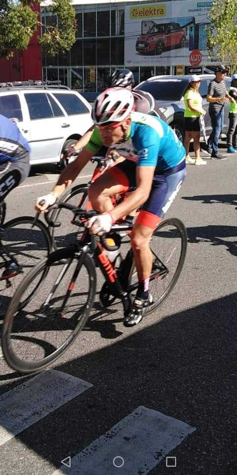 Ciclismo: Gustavo Gómez Campeón de Metas Sprint en Guatemala