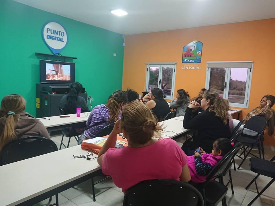 San Isidro: capacitan a la Cooperativa de Mujeres