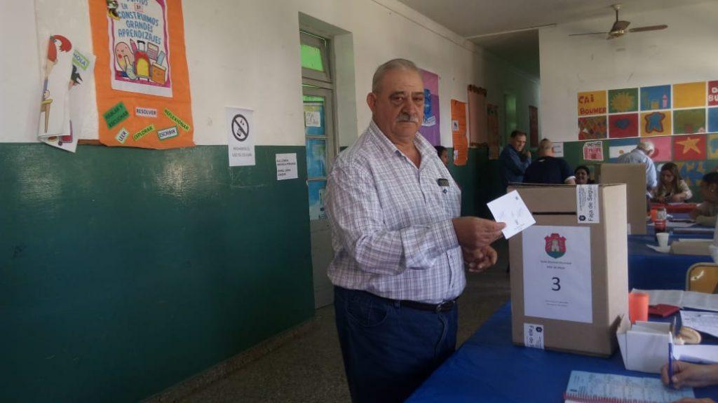 Juan Luppi, intendente de Bouwer desde 2003