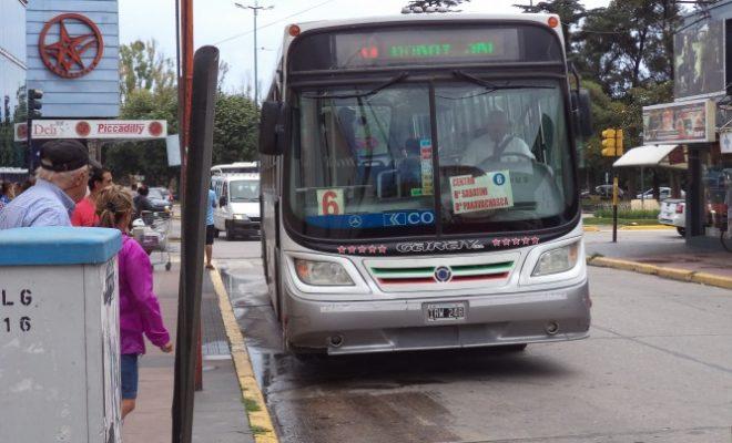 Atención: cambios de recorrido de colectivos en barrio Cámara