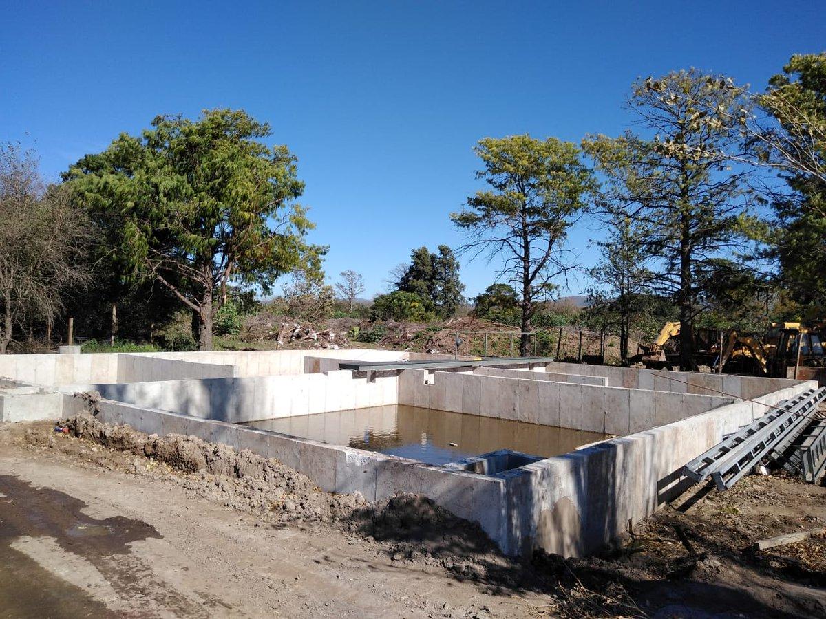 Avanza la obra del acueducto Alta Gracia – Valle Alegre – Villa del Prado