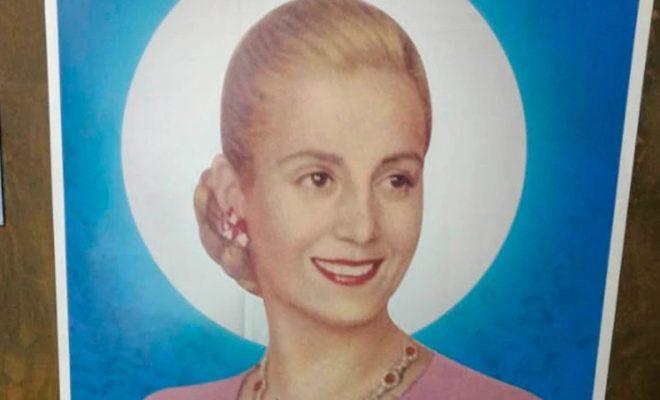 La CGT busca solicitarle al Papa la beatificación de Evita