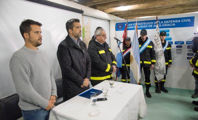Defensa civil tiene nuevo coordinador general