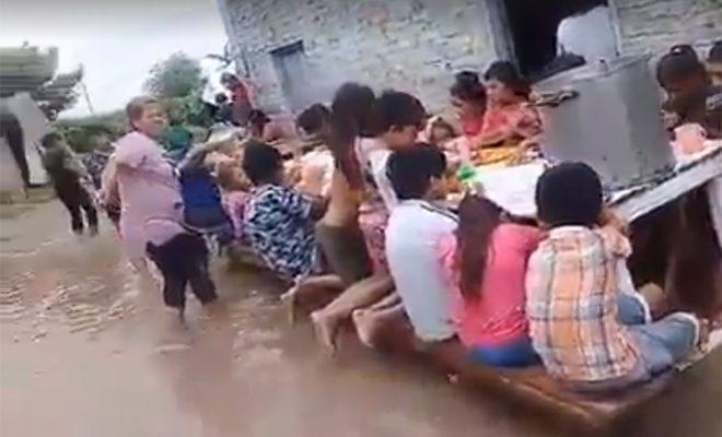 UNADENI realiza colecta para los inundados del Chaco