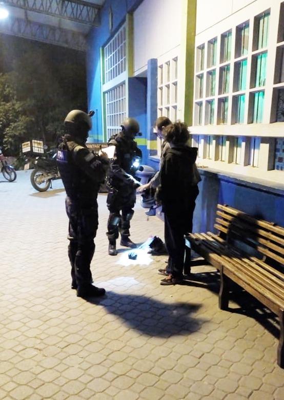 Antinarcotráfico realizó controles en Alta Gracia y zona