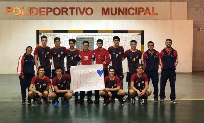 Alta Gracia pisa fuerte en el Nacional Juvenil de Handball