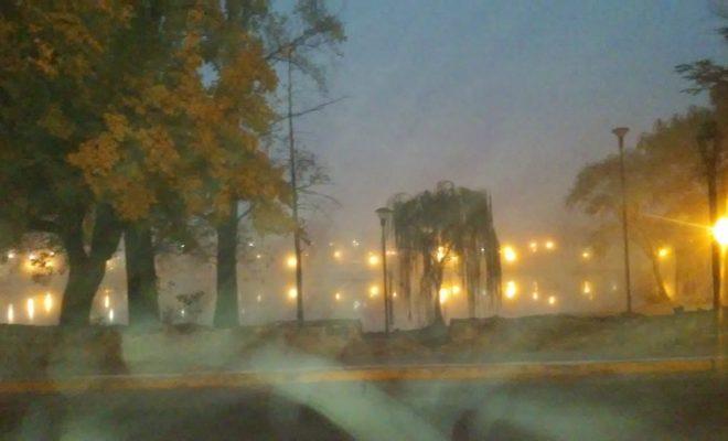 Atención: jueves frío con neblinas y lloviznas