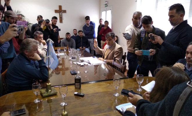 En una sorpresiva sesión relámpago, los concejales elevaron la ordenanza al Ejecutivo