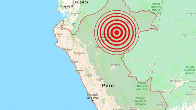 Fuerte sismo de 7, 5º estremeció la Amazonía peruana