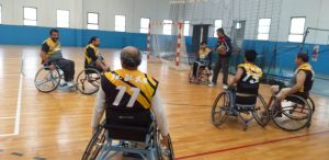 3er partido del Torneo de Básquet en Silla de Ruedas (Río Cuarto)