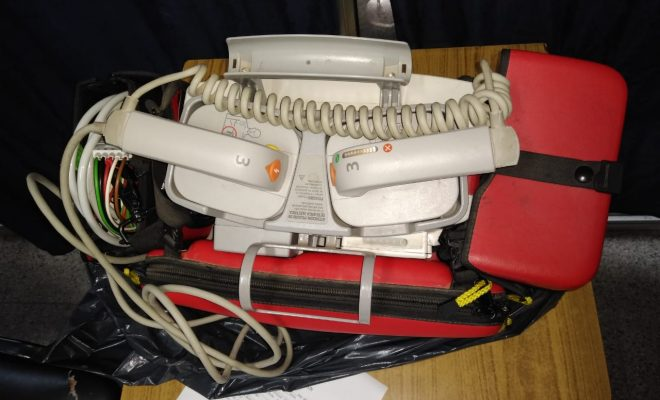 Recuperan elementos robados a una ambulancia de Anisacate