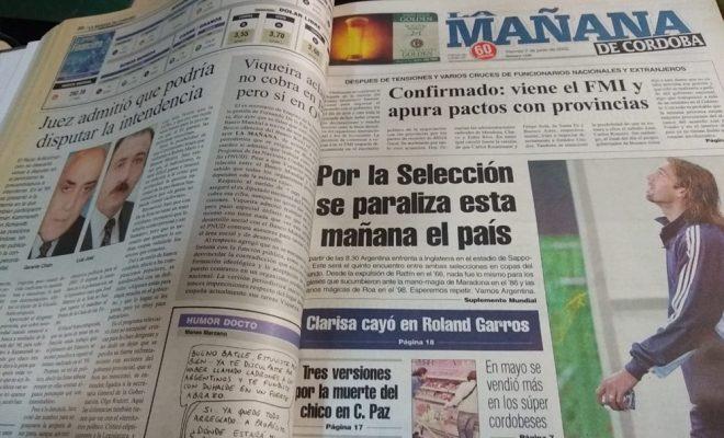 Hallaron el archivo de La Mañana de Córdoba abandonado en un edificio