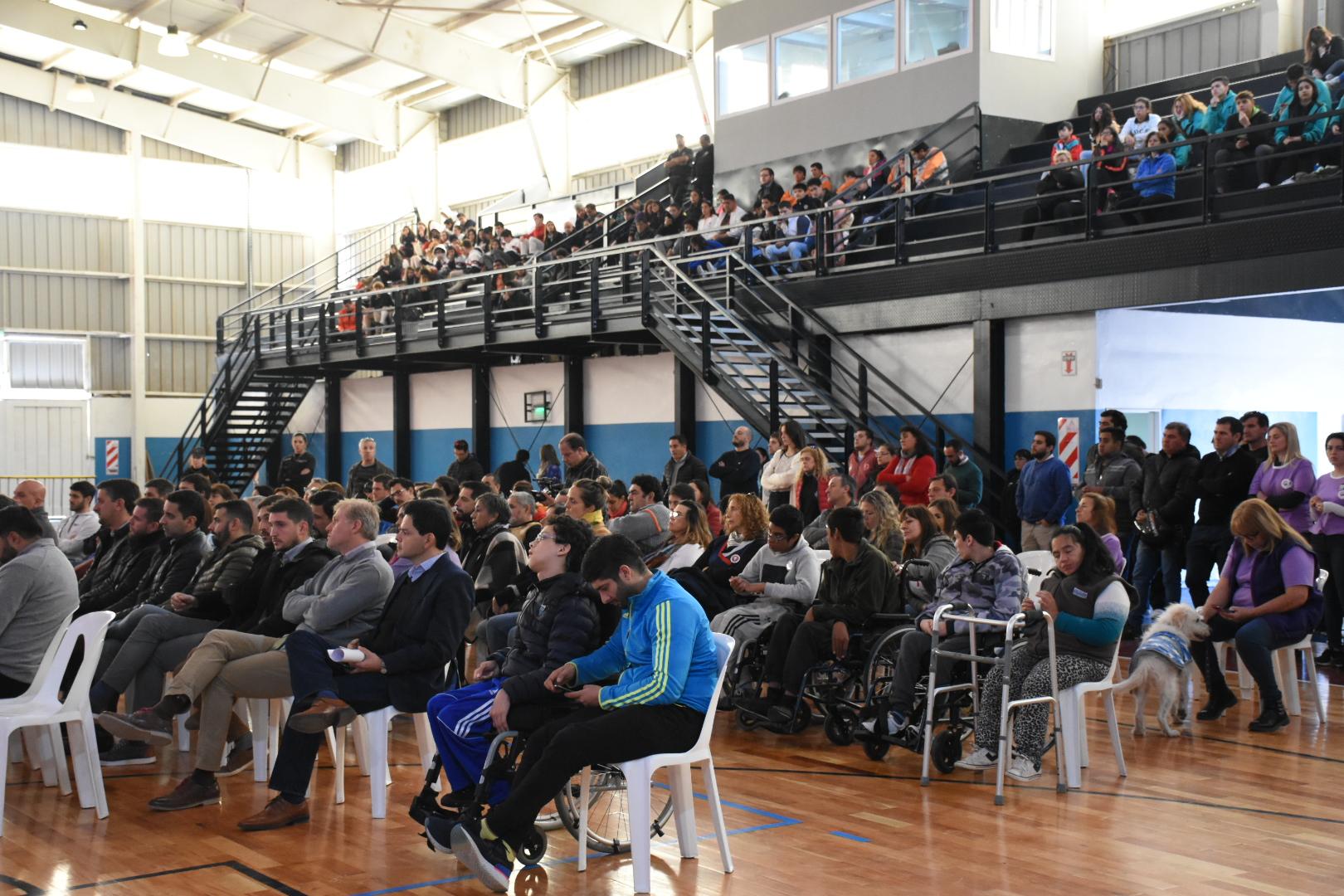 Alta Gracia presentó el Área de Deporte Adaptado