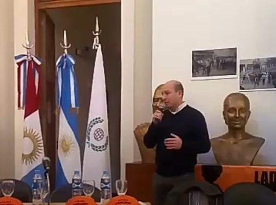 "Se presentó en la CGT Córdoba la bandera de ""No al Trabajo Infantil"""
