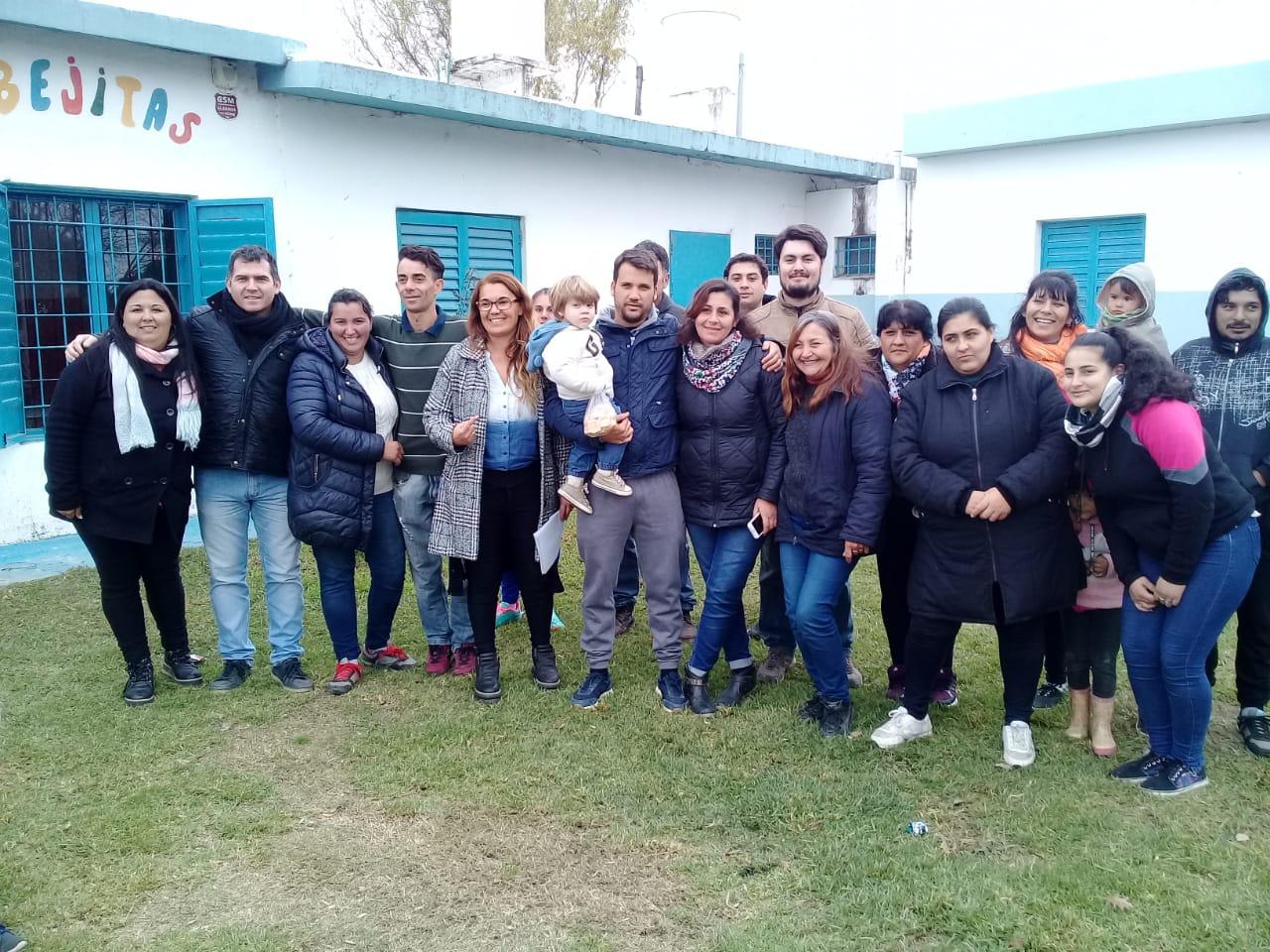 Patricia Sánchez es la nueva presidenta vecinal de barrio Parque Virrey (E)