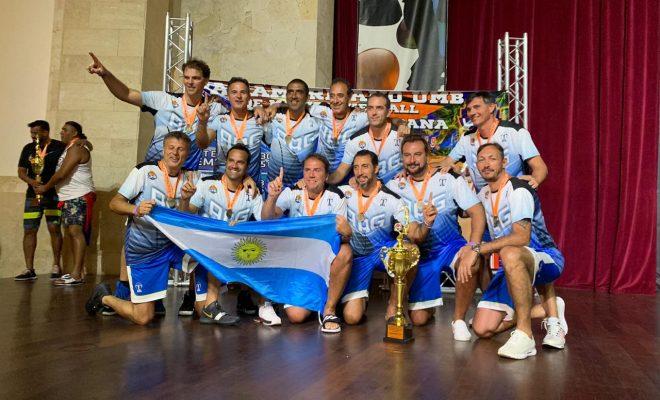 Cristian Lingua se consagró Campeón Panamericano con la Selección Argentina de Maxibasquet