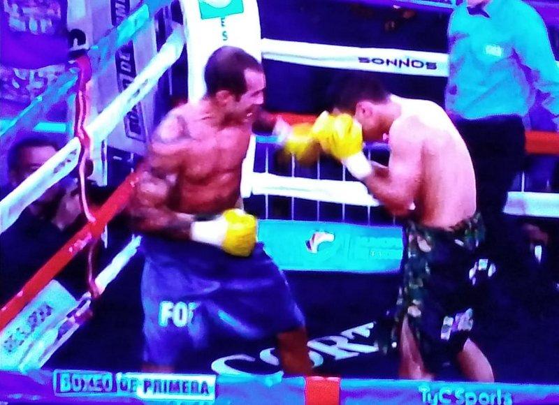 Box: Fofi Moreschi no pudo calzarse el cinturón Latino