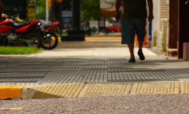 El Centro Vecinal de barrio Sur pide por accesibilidad en plaza Mitre