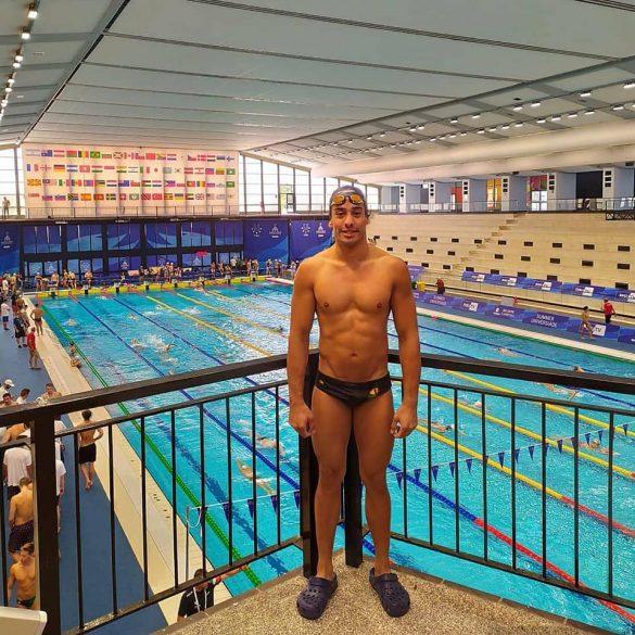 Franco Novillo finalizó su participación en la Universiada de Verano Nápoles 2019