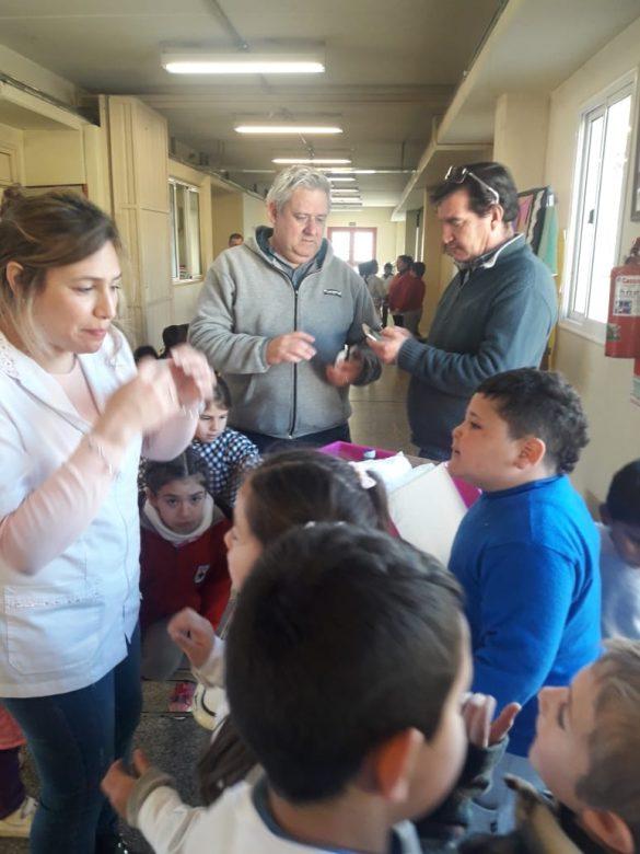 Taller de Primeros Auxilios en la Escuela Santiago de Liniers