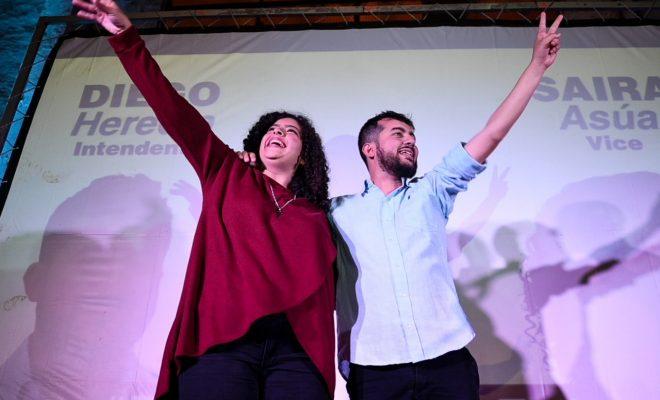 Con el respaldo de Alberto Fernández, cerró la campaña para las PASO la fórmula Heredia – Asua