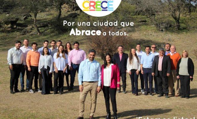 """""""Alta Gracia Crece"""" presentará hoy sus candidatos y sus propuestas"""
