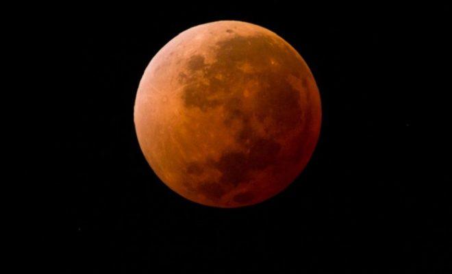 Hoy podrá observarse un eclipse parcial de luna