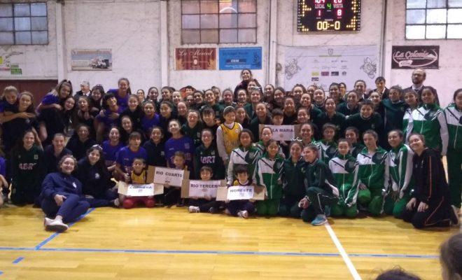 Ya se juega el Provincial de Basquet Femenino U-15