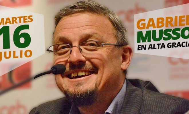 """Reforzando la campaña de """"Acuerdo en Alta Gracia"""", llega el intendente de Cosquín"""