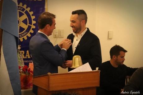 Renovó autoridades el Rotary Club de nuestra ciudad