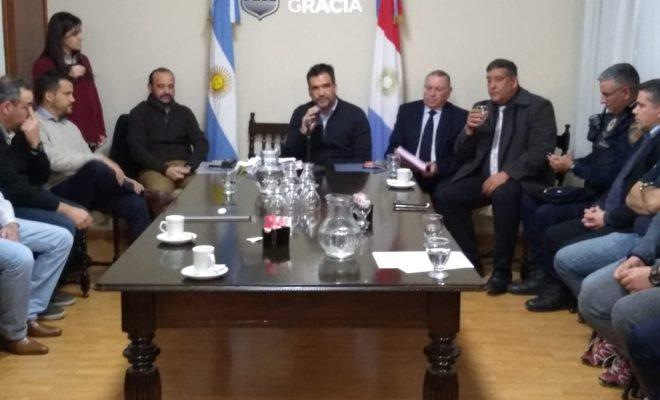 Sin prensa presente, sesionó el Consejo de Seguridad Municipal