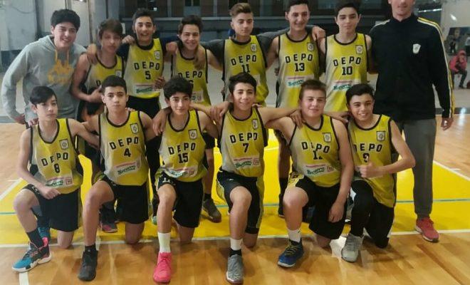 Basquet: Deportivo Norte ganó y se quedó con la primera parte de la temporada