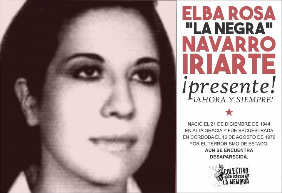 """Paravachasca por la Memoria"" recuerda a Elba Rosa Navarro Iriarte"