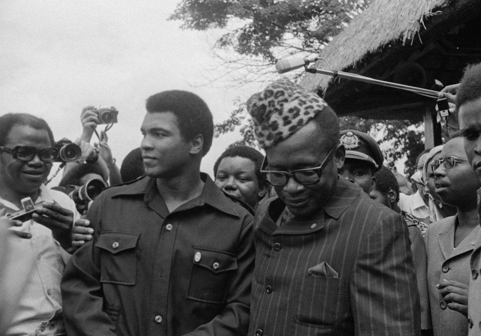 Mobutu, Foreman y Alí… y Mukombo